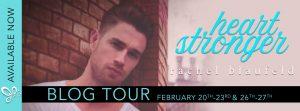 Blog Tour + Review : Heart Stronger by Rachel Blaufeld