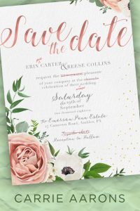 Cover Reveal: Save the Date