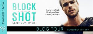 Blog Tour + Review: Block Shot by Kennedy Ryan