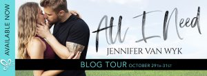 Review: All I Need by Jennifer Van Wyk